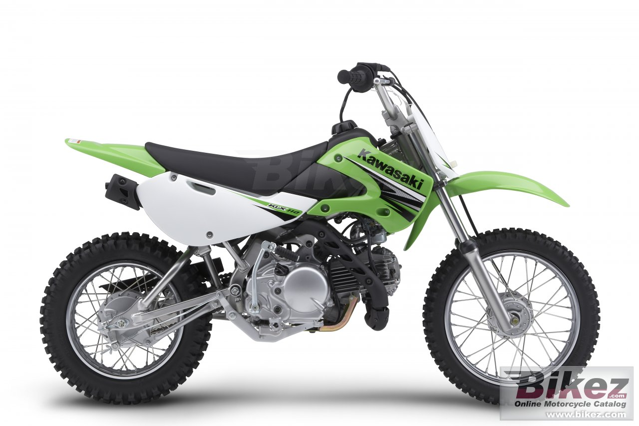 Big Kawasaki klx110 picture and wallpaper from Bikez.com