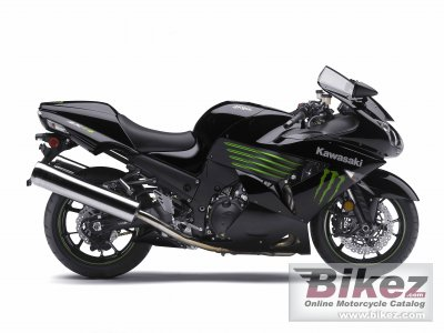 2009 Kawasaki Ninja ZX-14 Monster Energy photo
