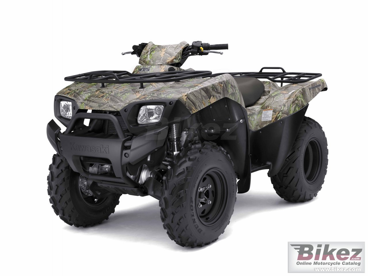 Big Kawasaki brute force 650 4x4 camo picture and wallpaper from Bikez.com