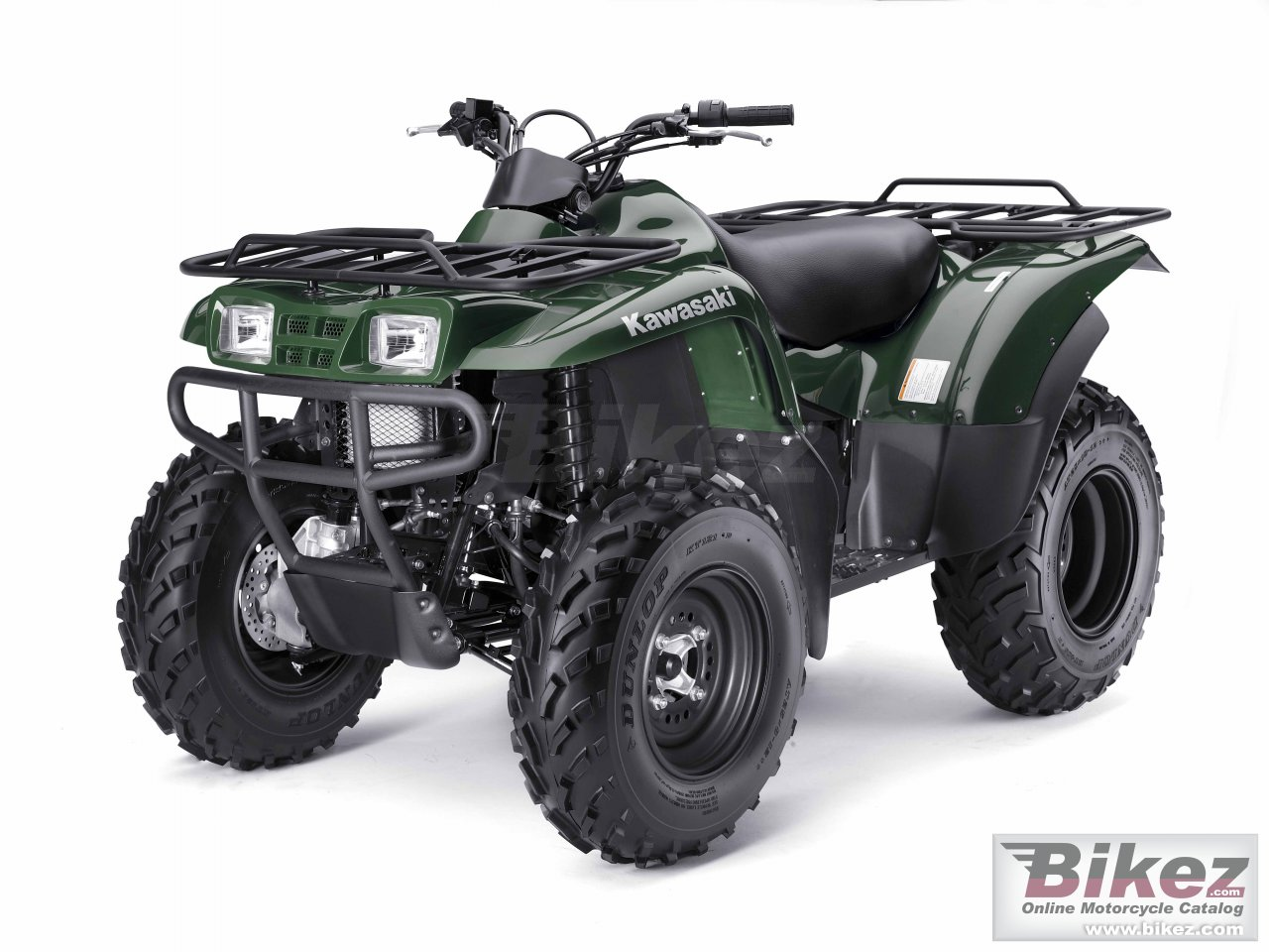 Big Kawasaki prairie 360 picture and wallpaper from Bikez.com