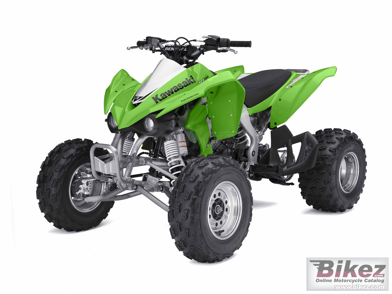 Big Kawasaki kfx 450r picture and wallpaper from Bikez.com
