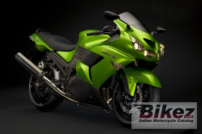 2009 Kawasaki ZZR1400 ABS photo