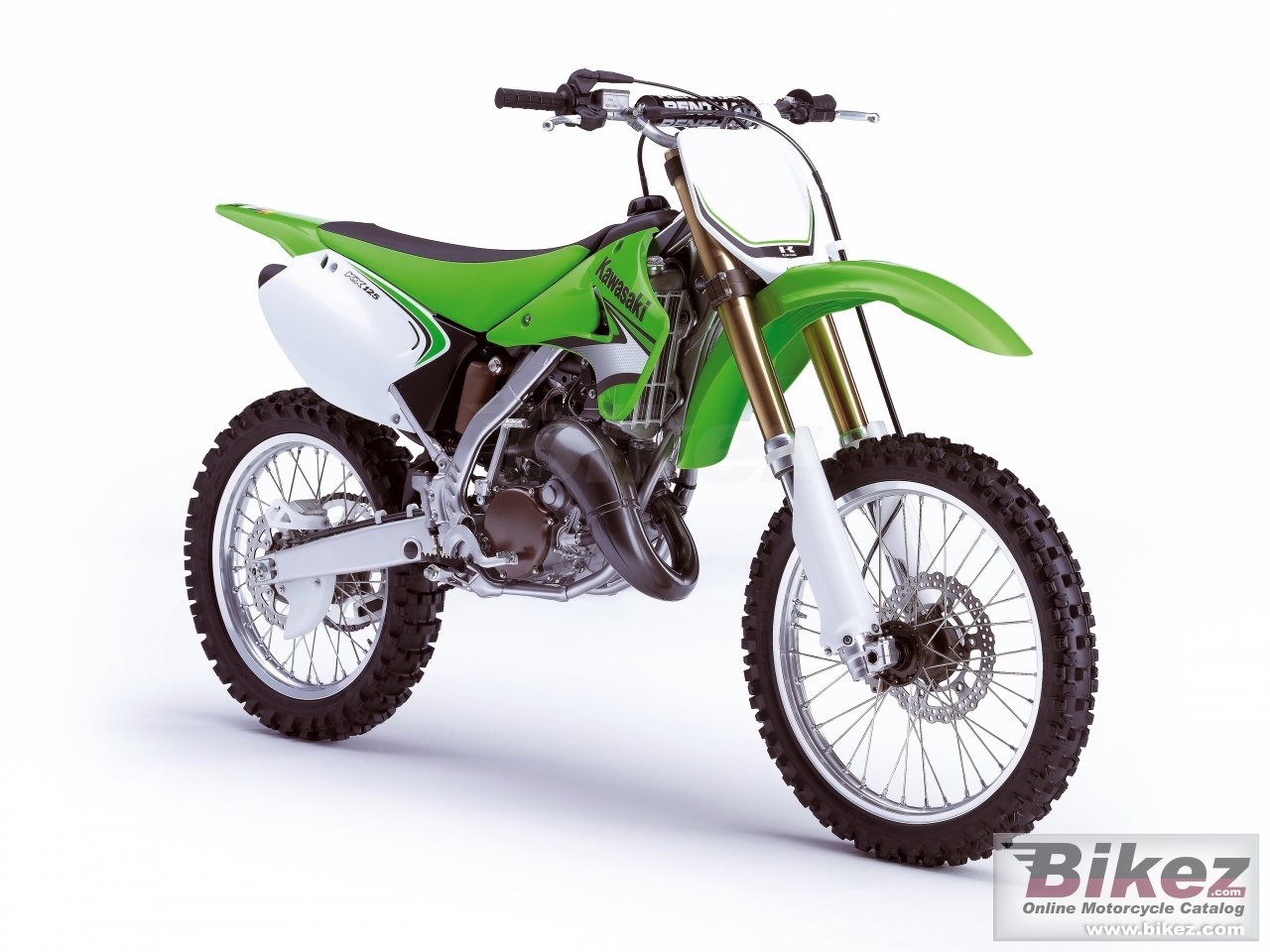 Big Kawasaki kx125 picture and wallpaper from Bikez.com