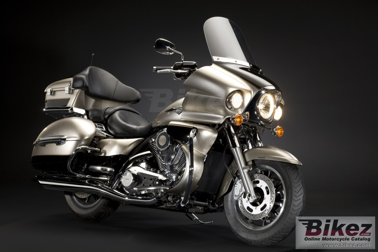 Big Kawasaki vn 1700 voyager picture and wallpaper from Bikez.com
