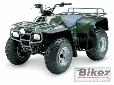 2009 Kawasaki KLF300 specifications and pictures