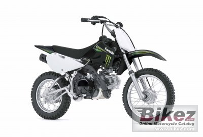 2009 Kawasaki KLX 110 Monster Energy