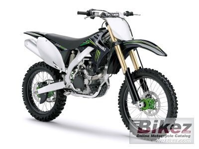 2009 Kawasaki KX 450 F Monster Energy