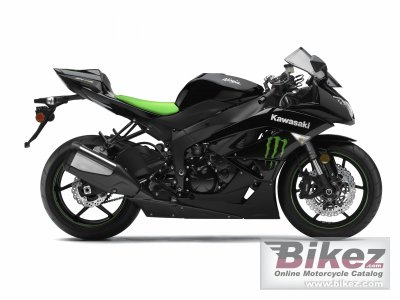 2009 Kawasaki Ninja ZX-6R Monster Energy