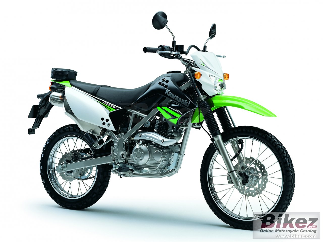 Big Kawasaki klx 125c picture and wallpaper from Bikez.com