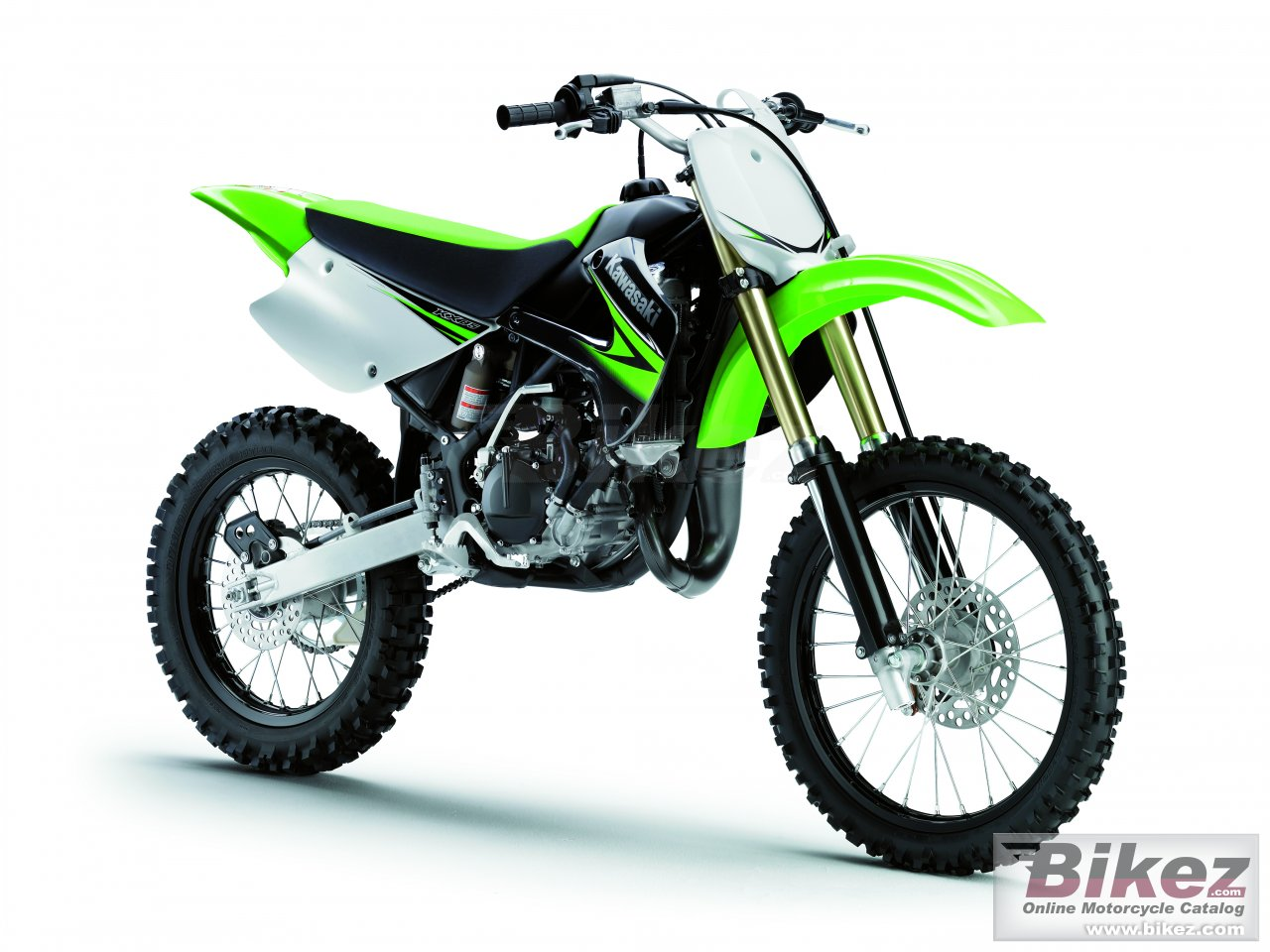 Big Kawasaki kx 85ii picture and wallpaper from Bikez.com