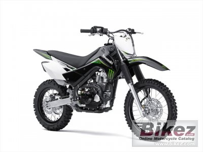 2010 Kawasaki KLX 140 Monster Energy