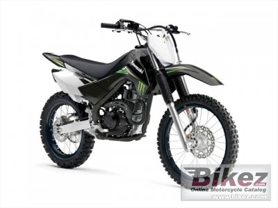 2010 Kawasaki KLX 140L Monster Energy