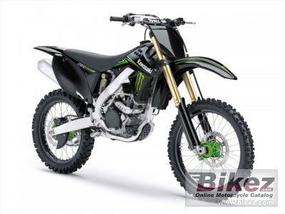 2010 Kawasaki KX 250F Monster Energy