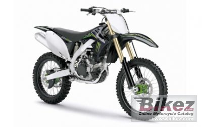 2010 Kawasaki KX 450F Monster Energy