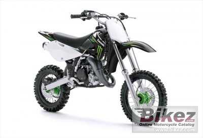 2010 Kawasaki KX 65 Monster Energy