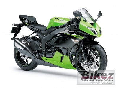 2010 Kawasaki Ninja ZX -6R specifications and pictures
