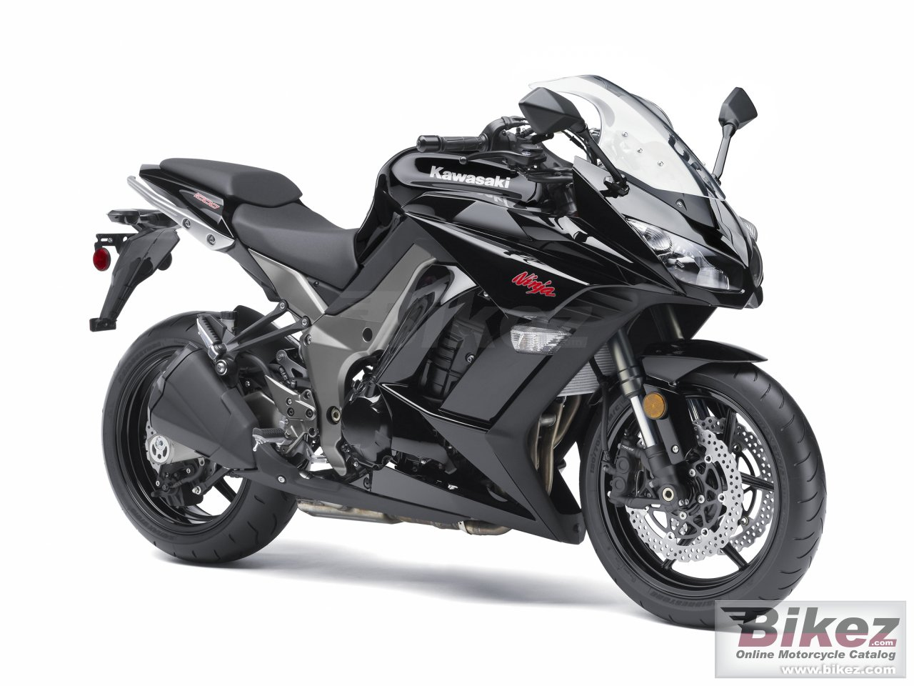 Big Kawasaki ninja 1000 picture and wallpaper from Bikez.com