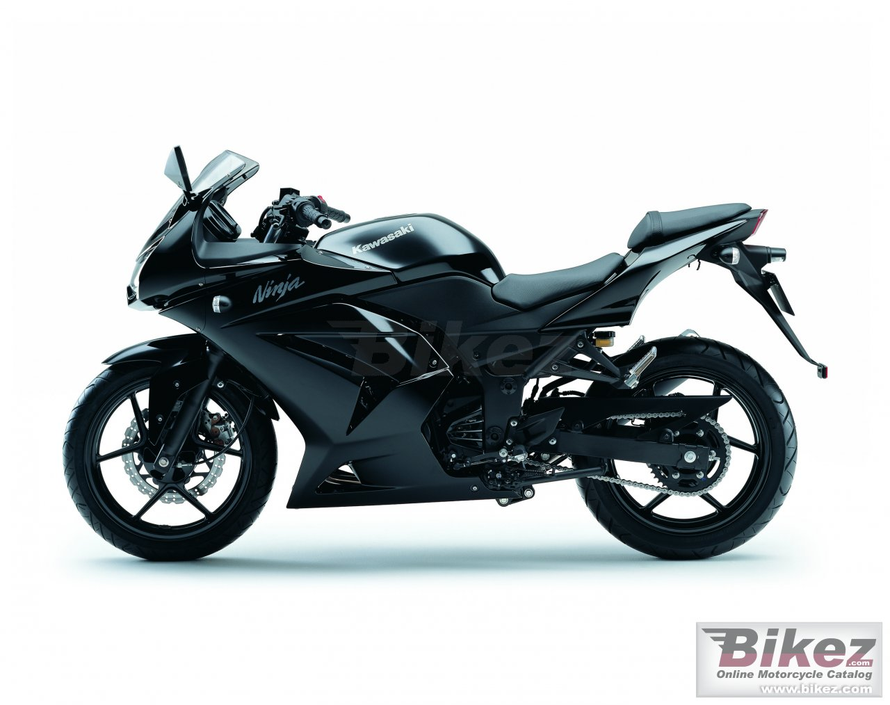 Big Kawasaki ninja 250r picture and wallpaper from Bikez.com