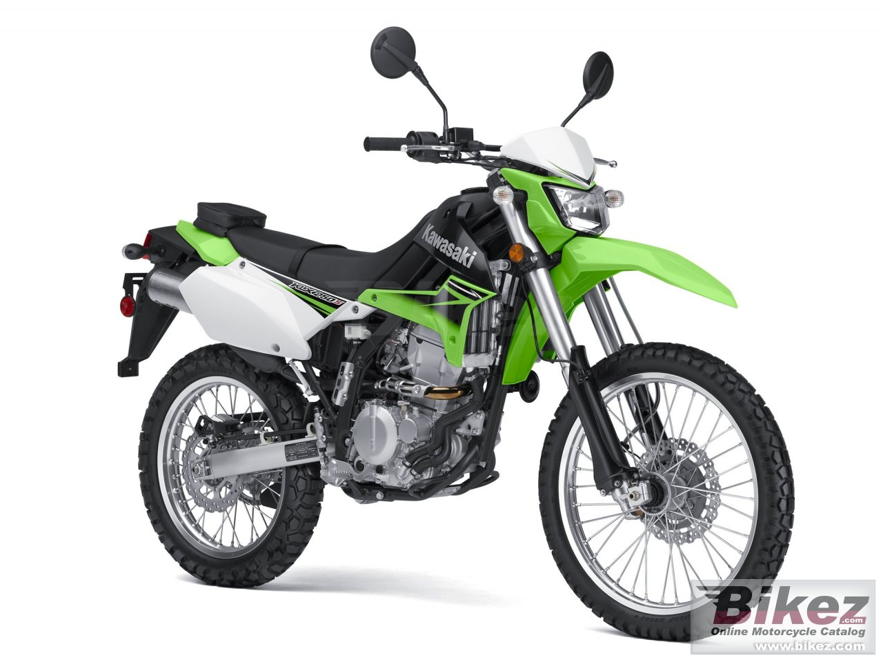 Big Kawasaki klx 250s picture and wallpaper from Bikez.com