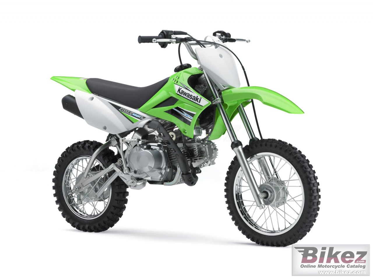 Big Kawasaki klx 110l picture and wallpaper from Bikez.com