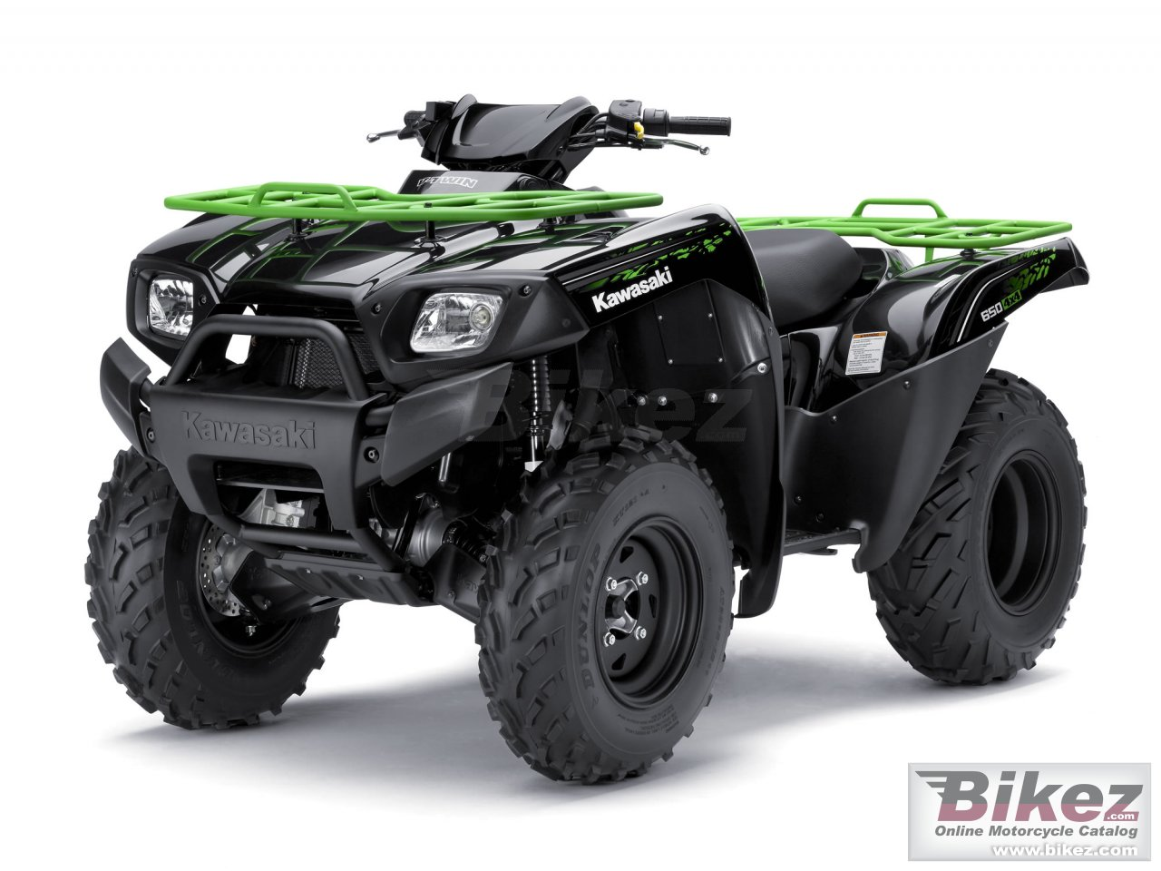 Big Kawasaki brute force 650 4x4i picture and wallpaper from Bikez.com