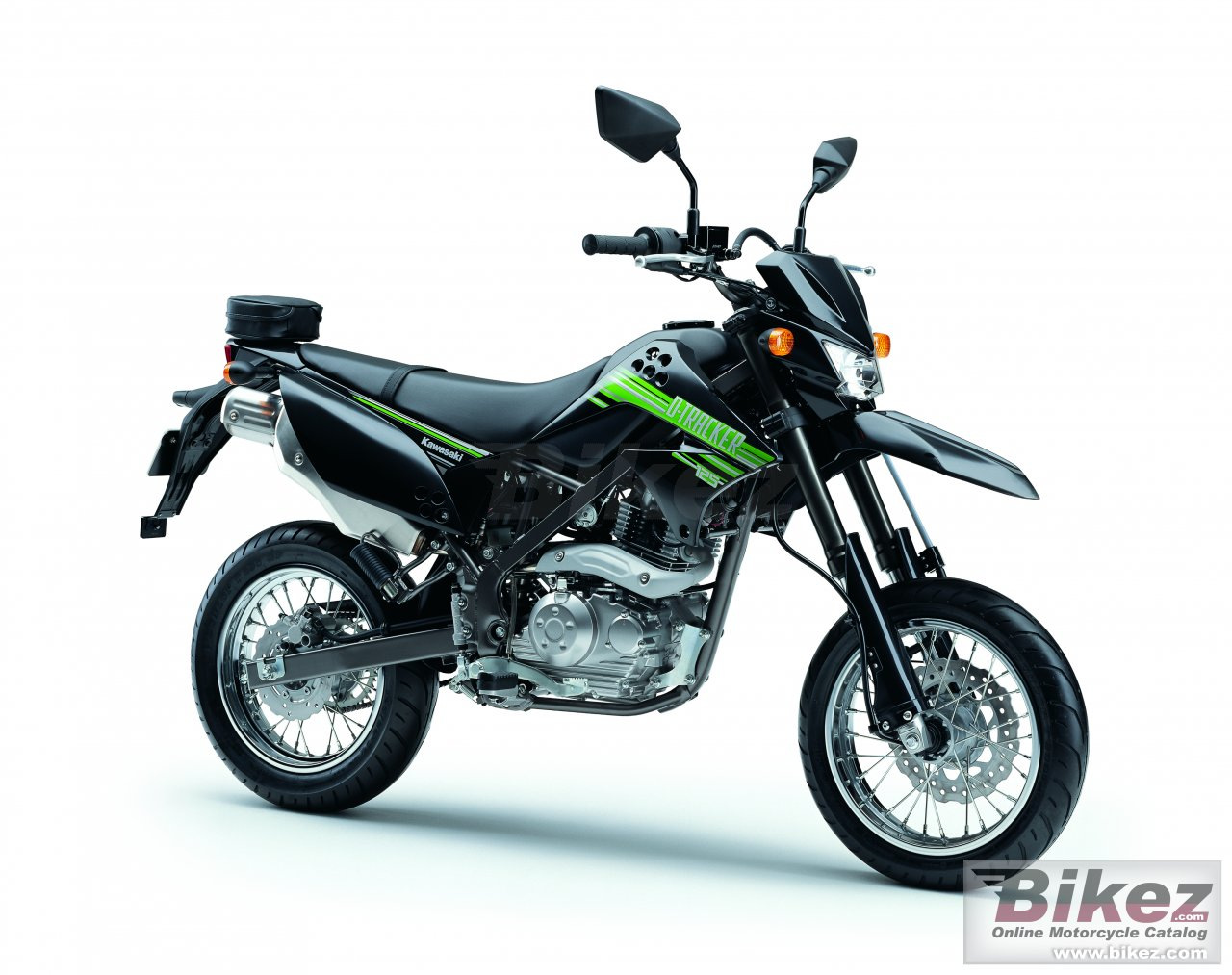 Big Kawasaki d-tracker 125 picture and wallpaper from Bikez.com