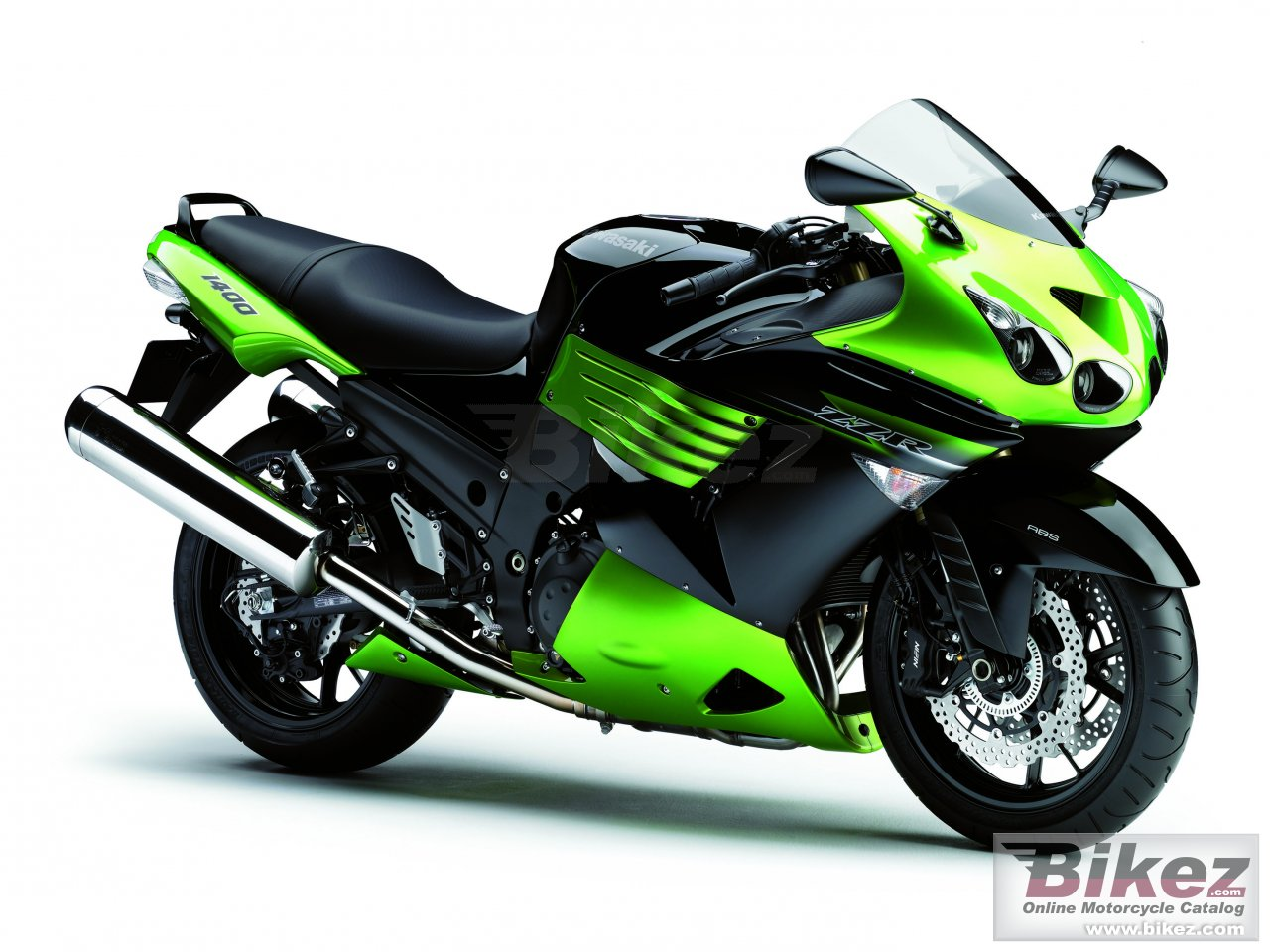 Big Kawasaki zzr 1400 picture and wallpaper from Bikez.com