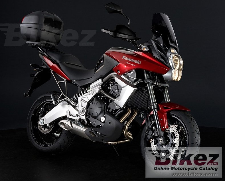 Big Kawasaki versys city picture and wallpaper from Bikez.com