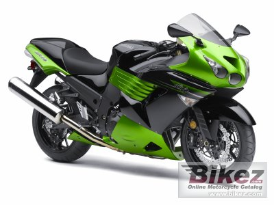2011 Kawasaki Ninja ZX -14 Supersport