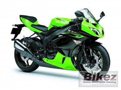 2011 Kawasaki Ninja ZX-6R specifications and pictures
