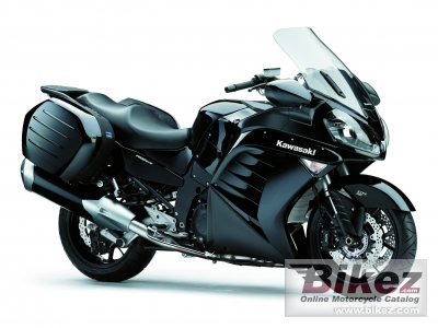 2012 Kawasaki 1400 GTR specifications and pictures