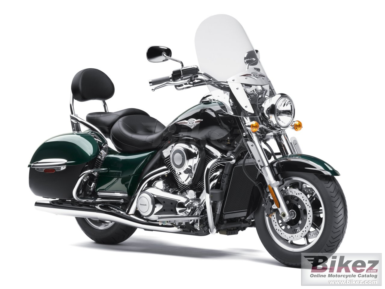 Big Kawasaki vulcan 1700 nomad picture and wallpaper from Bikez.com