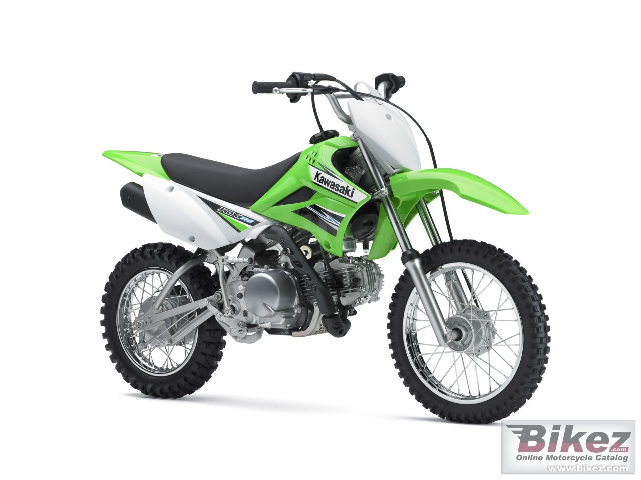 Big Kawasaki klx 110 picture and wallpaper from Bikez.com