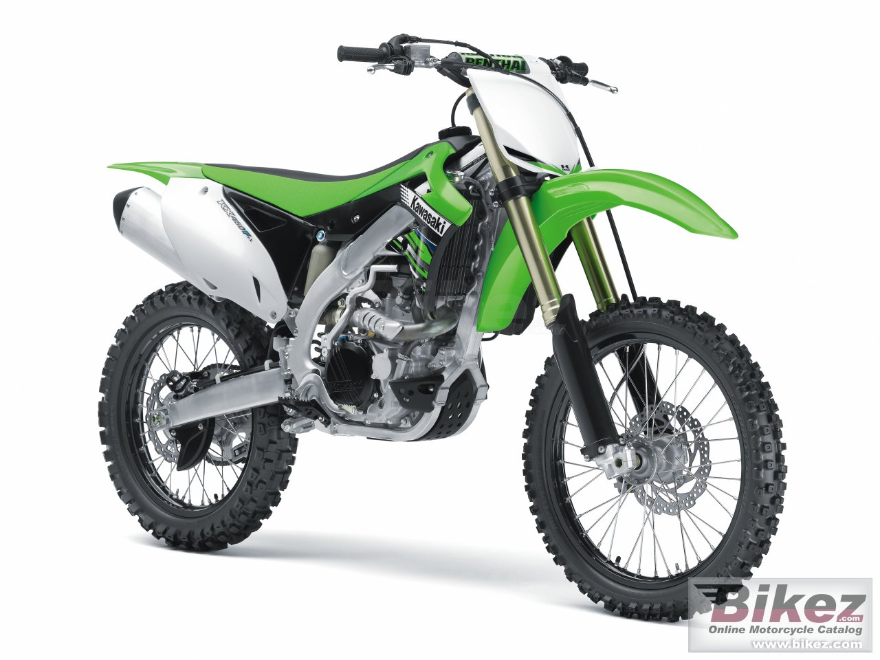Big Kawasaki kx 450f picture and wallpaper from Bikez.com