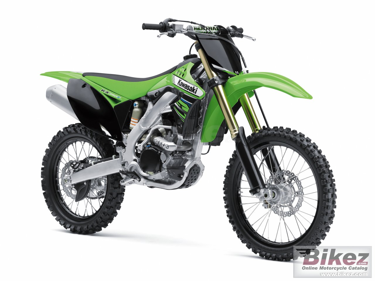 Big Kawasaki kx 250f picture and wallpaper from Bikez.com