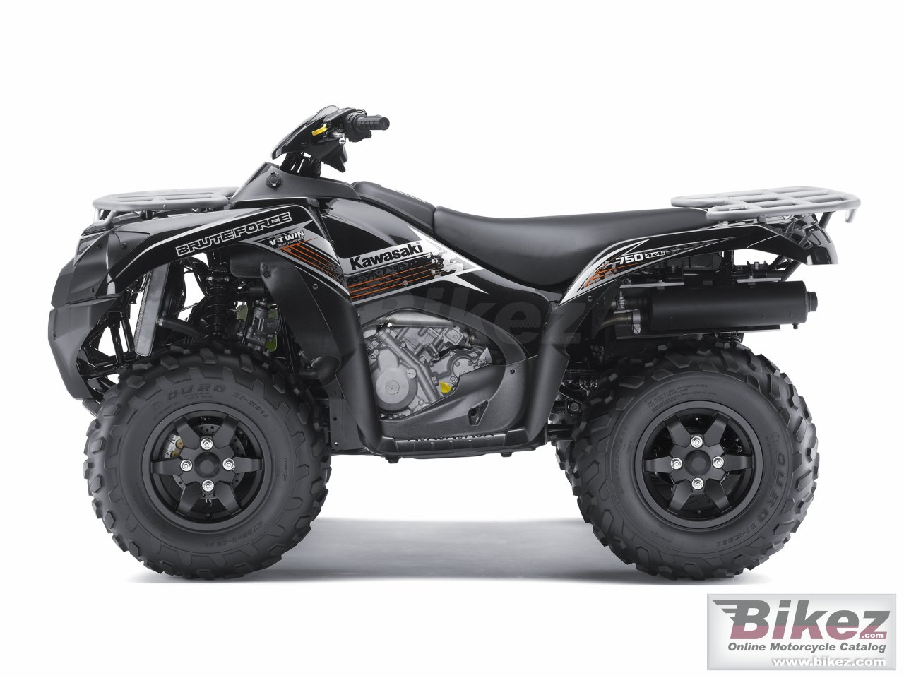 Big Kawasaki brute force 750 4x4i eps picture and wallpaper from Bikez.com