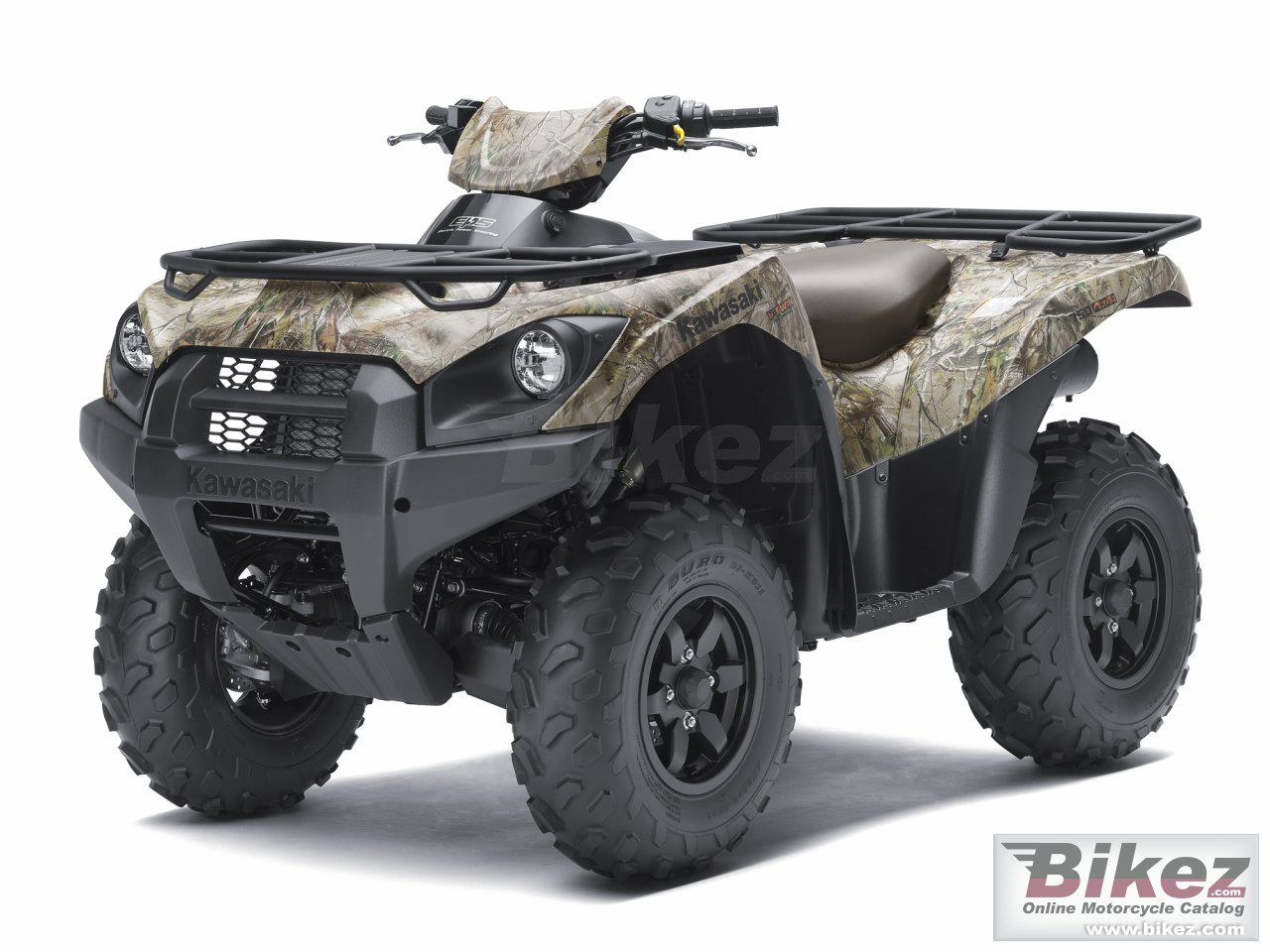 Big Kawasaki brute force 750 4x4i eps camo picture and wallpaper from Bikez.com