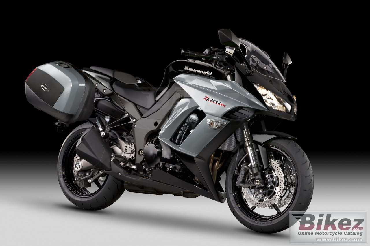 Big Kawasaki z1000 sx tourer picture and wallpaper from Bikez.com