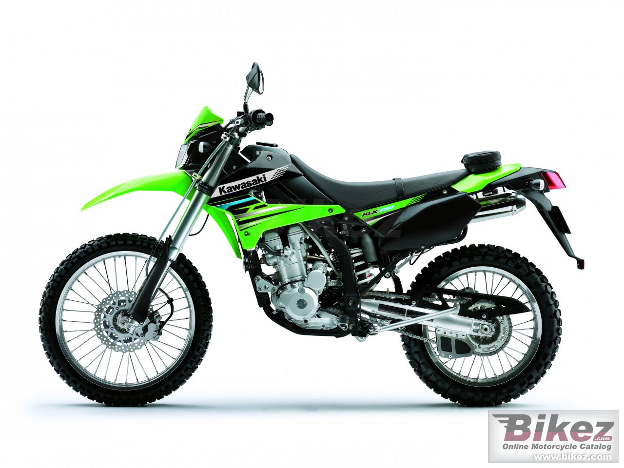 Big Kawasaki klx 250 picture and wallpaper from Bikez.com
