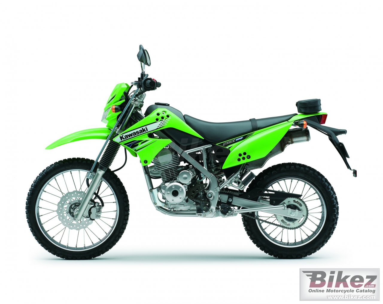 Big Kawasaki klx 125 picture and wallpaper from Bikez.com