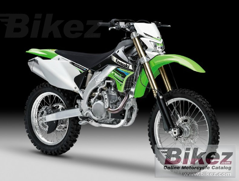 Big Kawasaki klx450r picture and wallpaper from Bikez.com