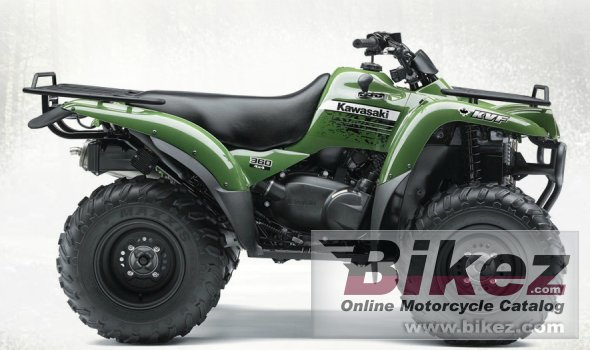 Big Kawasaki kvf360 4x4 picture and wallpaper from Bikez.com