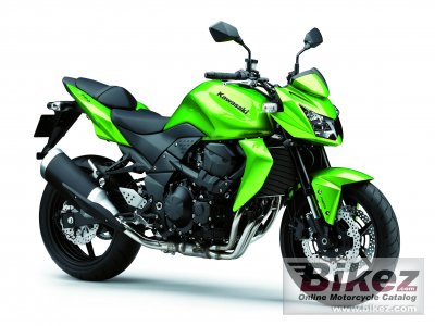 2012 Kawasaki Z750 specifications and pictures