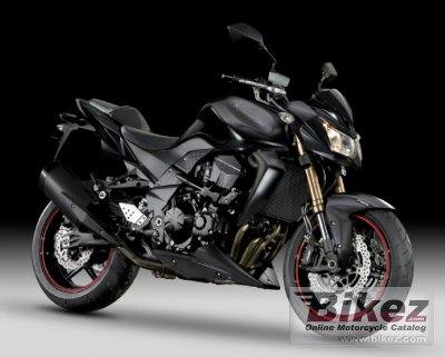 2012 Kawasaki Z750R Black Edition