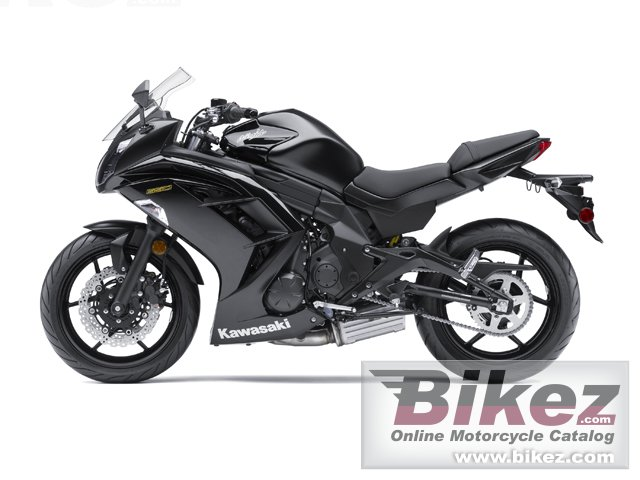 Big Kawasaki ninja 650 picture and wallpaper from Bikez.com