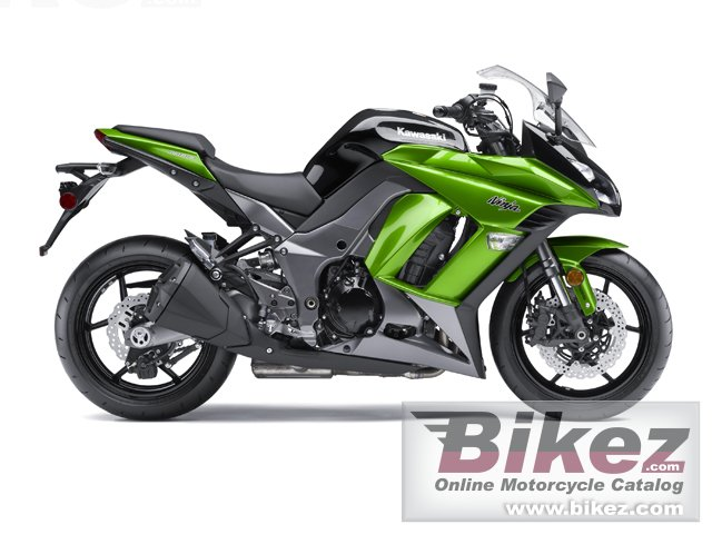 Big Kawasaki ninja 1000 abs picture and wallpaper from Bikez.com