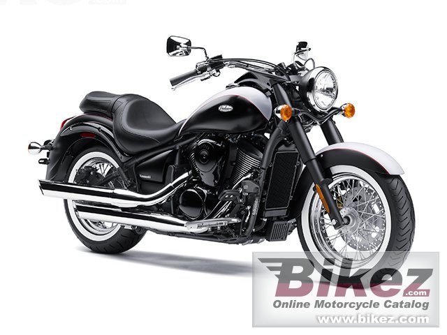 Big Kawasaki vulcan 900 classic picture and wallpaper from Bikez.com