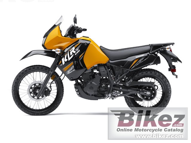 Big Kawasaki klr 650 picture and wallpaper from Bikez.com