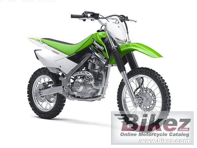 Big Kawasaki klx 140 picture and wallpaper from Bikez.com