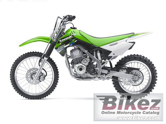 Big Kawasaki klx 140l picture and wallpaper from Bikez.com